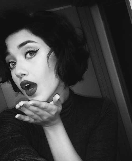 Bob Hairstyles with Bangs-18