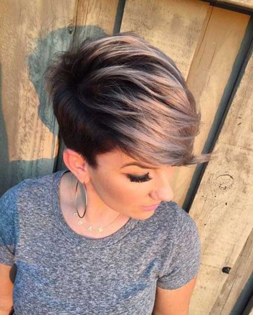 20 Nice Hair Color For Short Hair
