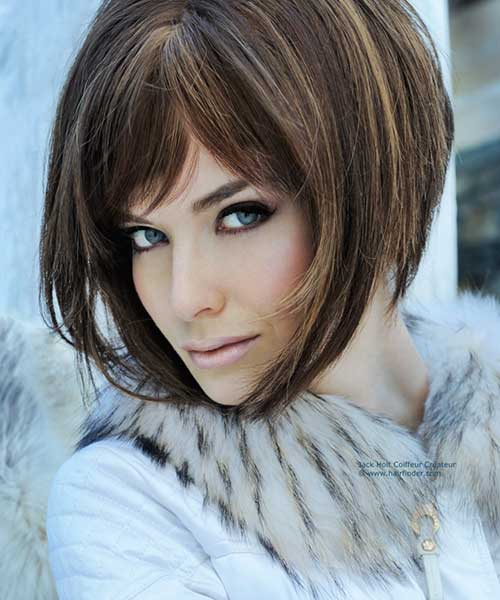 Brilliant 20 Best Angled Bob Hairstyles Short Hairstyles 2016 2017 Hairstyles For Women Draintrainus