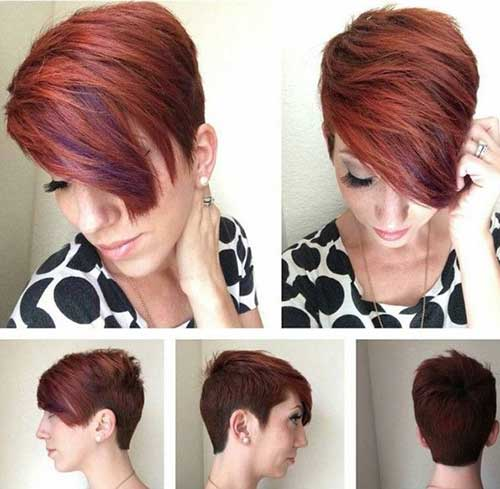 Short Hair Styles for Women Over 40-19