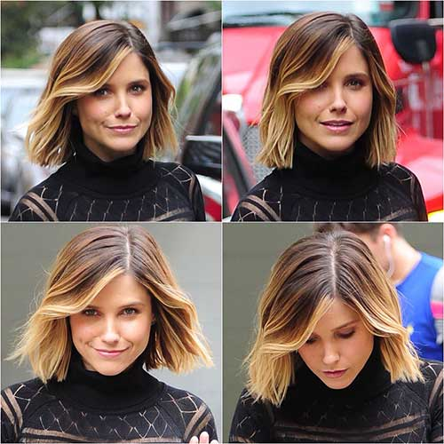 Hair Colors for Short Hair-20