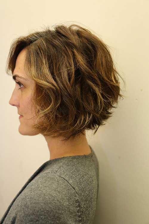 stacked bob haircut 25 best wavy bob hairstyles hairstyles 2017 2018 4828