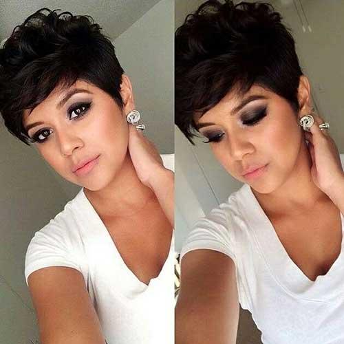 Awe Inspiring 20 Short Dark Hair Pics Short Hairstyles 2016 2017 Most Short Hairstyles For Black Women Fulllsitofus