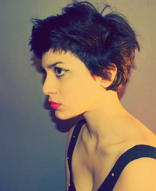 Cute Short Haircuts for Girls-24