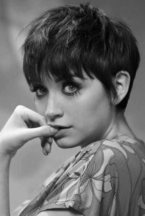 Short Hair with Bangs-6