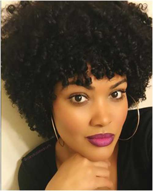 natural hair styles for black woman 15 best hairstyles for black 3287 | 8. Short Natural Hairstyle for Black Women