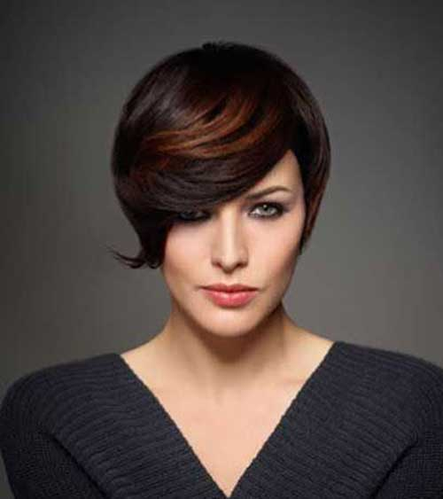 Hair Colors for Short Hair-9