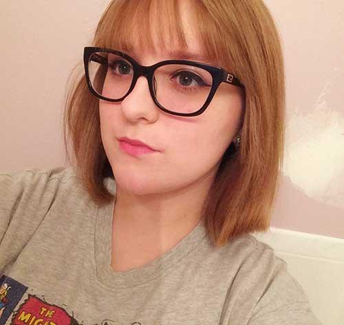 Short Hair Round Face