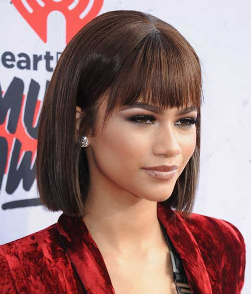 Celebrity Bob Hairstyles With Bangs | Hair