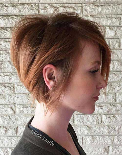 20 Nice Hair Color For Short Hair Short Hairstyles 2017 2018