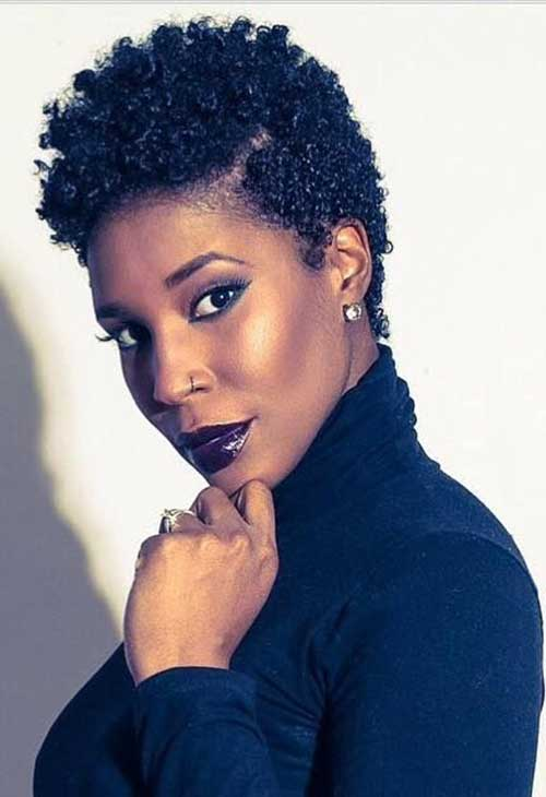 Admirable 15 Best Short Natural Hairstyles For Black Women Short Hairstyles For Women Draintrainus