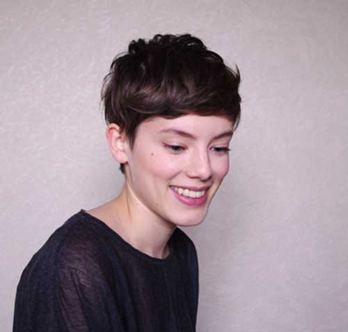Short Haircuts for Dark Hair