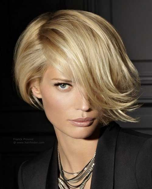 Short Layered Haircuts