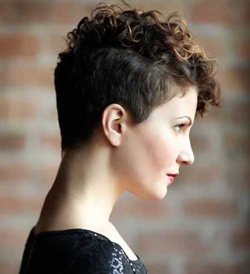 haircuts for curly short hair 20 curly hairstyles hairstyles 2017 2778 | Very Short Curly Haircut