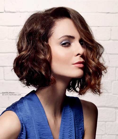 Admirable 25 Best Wavy Bob Hairstyles Short Hairstyles 2016 2017 Most Hairstyles For Women Draintrainus