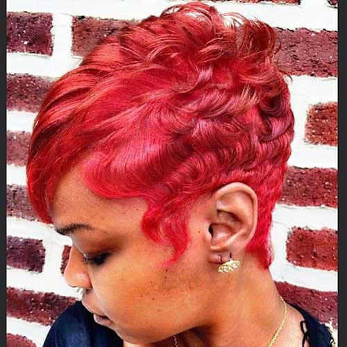 Red Pixie Cut-11