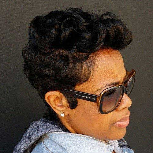 Short Hairstyles for Black Women 2016-12
