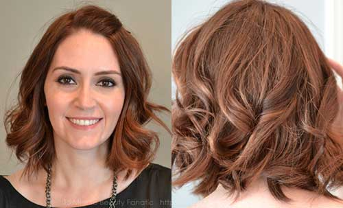 Short Hairstyles for Wavy Hair-12
