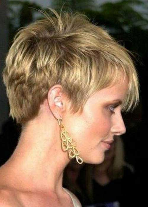 Cute Hairstyles for Short Hair-13
