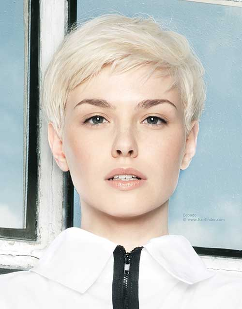 Short Hair with Fringe-13