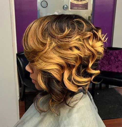 Short Curly Weave Hairstyles-14