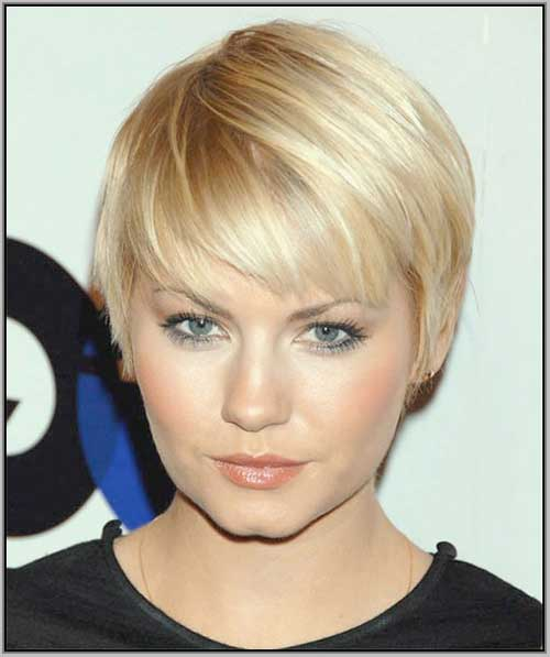 Short Hair for Round Faces-14