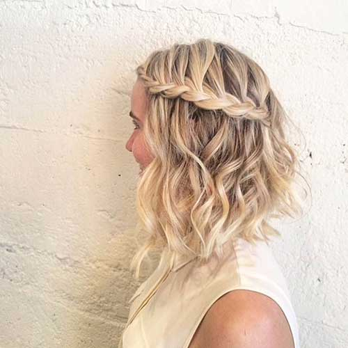 Cute Hairstyles for Short Hair-15