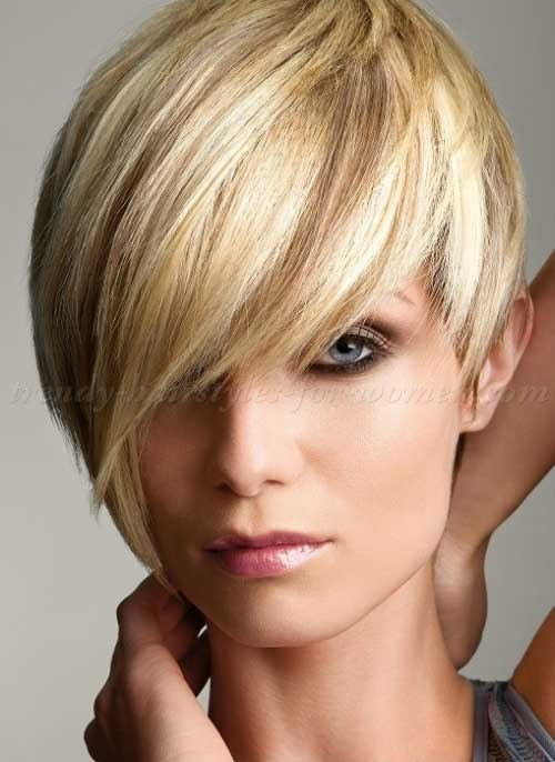20 Short Hair With Fringe