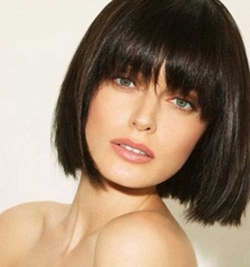 Short Hair with Fringe-17