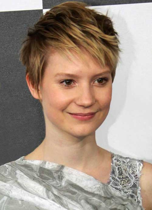 bald men haircuts 20 pixie cuts hairstyles 2017 2018 4823 | 20. Celebrity Pixie Cut