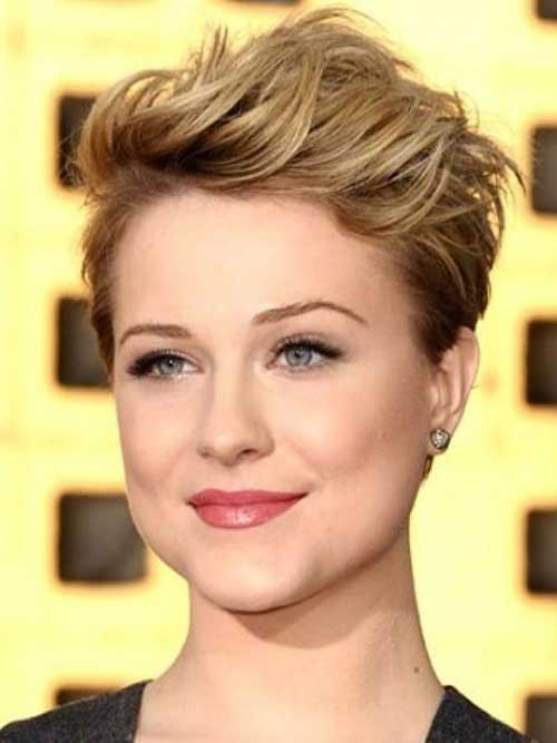 Short Hair for Round Faces-21