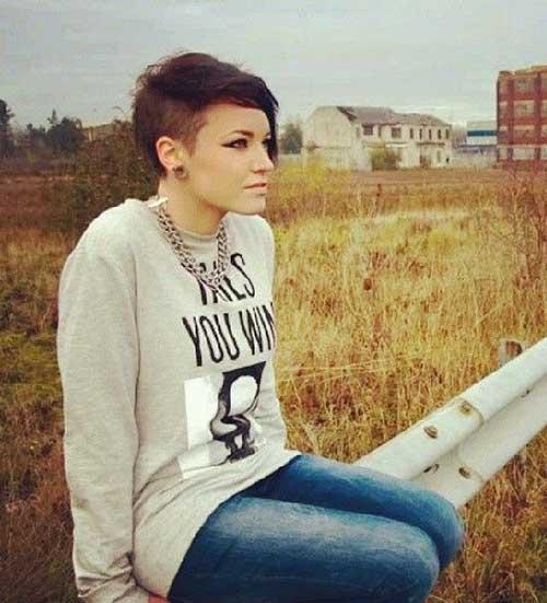 Short Cropped Haircut-6