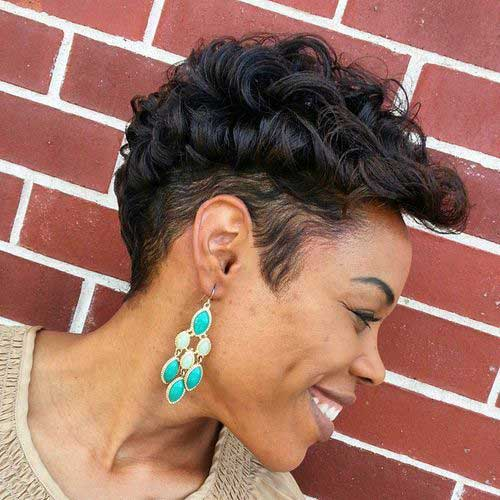 Stupendous Best Short Curly Weave Hairstyles Short Hairstyles 2016 2017 Short Hairstyles For Black Women Fulllsitofus