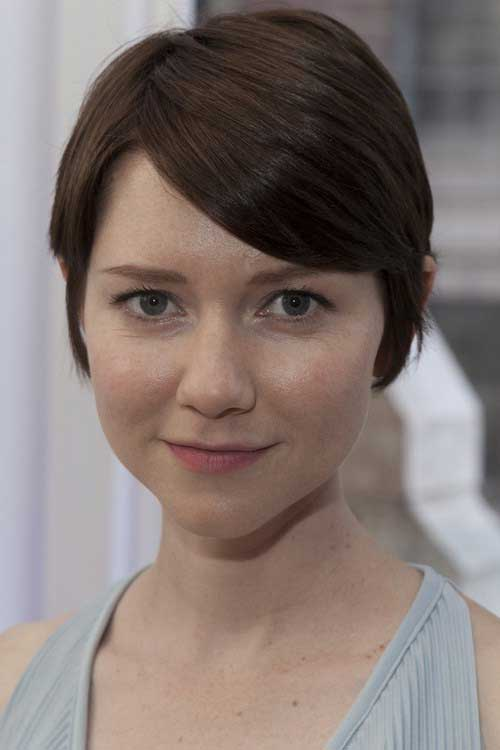 Short Hair with Fringe-6