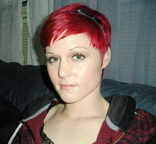 Red Pixie Cut-6