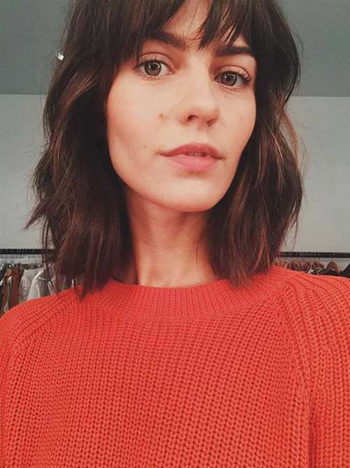 French Bob Haircut Short Hairstyles