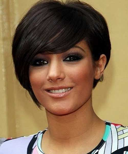 Short Hair for Round Faces-7
