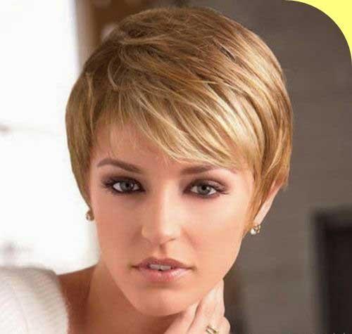 Short Hair with Fringe-7
