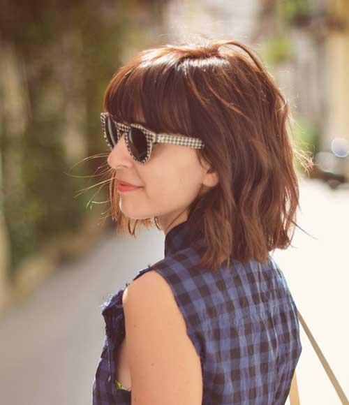 Short Hair with Fringe-8