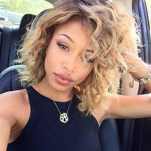 Pleasing Best Short Curly Weave Hairstyles Short Hairstyles 2016 2017 Short Hairstyles For Black Women Fulllsitofus