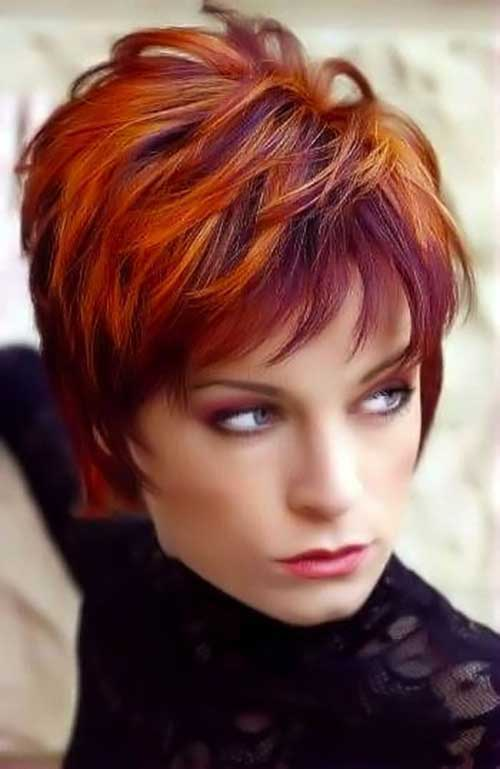 Red Pixie Cut-9