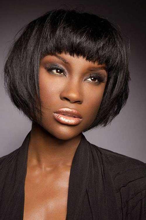 Cool 15 Short Bob Haircuts For Black Women Short Hairstyles 2016 Hairstyles For Men Maxibearus