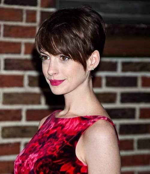 Anne Hathaway Short Hair Nice Pixie