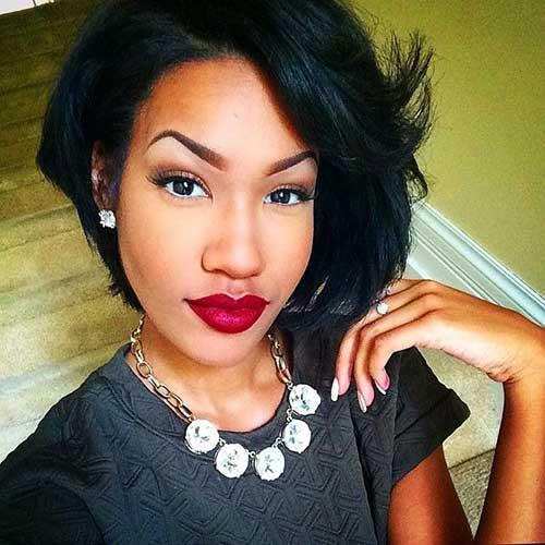Awe Inspiring 15 Black Girl Short Bob Hairstyles Short Hairstyles 2016 2017 Short Hairstyles For Black Women Fulllsitofus