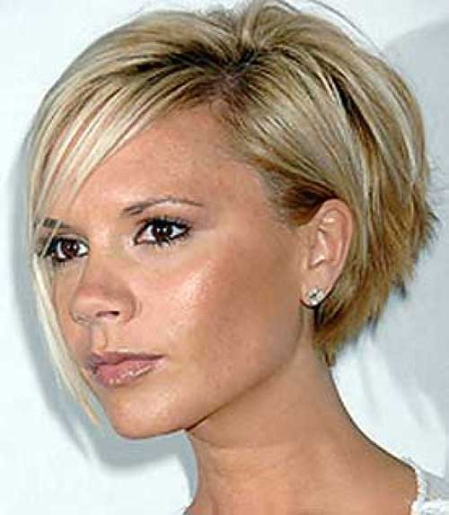 Asymmetrical Bob Haircuts for Short Blonde Hair