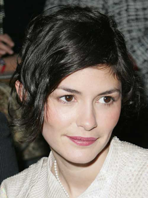 Audrey Tautou Best Short Hair