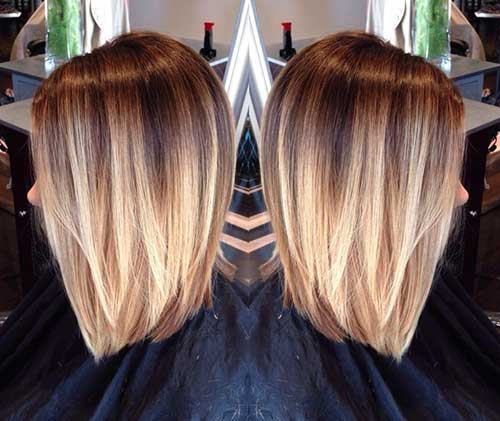 Best Blonde Ombre for Short Hairstyles