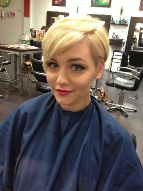 Best Hairstyle for Short Blonde Hair