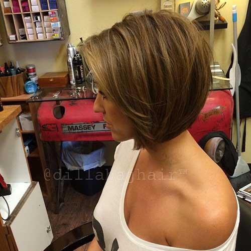 Best Short Layered Bob Haircuts 2014