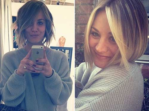 Best Short Layered Blonde Haircuts 2014